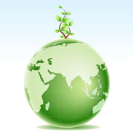 medio ambiente: Ilustraci�n de un medio ambiente sano