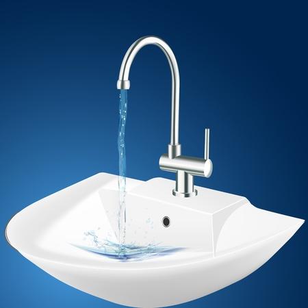 illustration of wash basin Stock Vector - 8248049