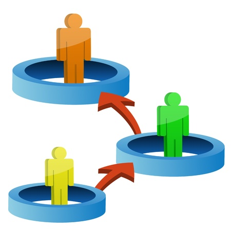 conectividad: Ilustraci�n del signo de conectividad sobre fondo aislado