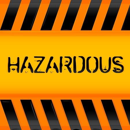 illustration of hazardous icon Stock Vector - 8441885