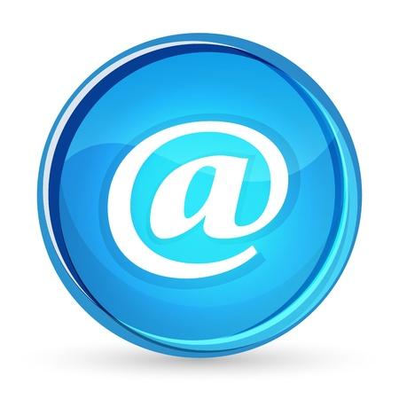 webspace: illustration of web button on white background Illustration