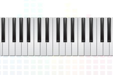 illustration of piano on white background
