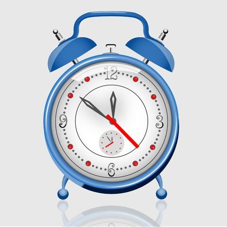 illustration of alarm clock on white background Stock Vector - 9269538