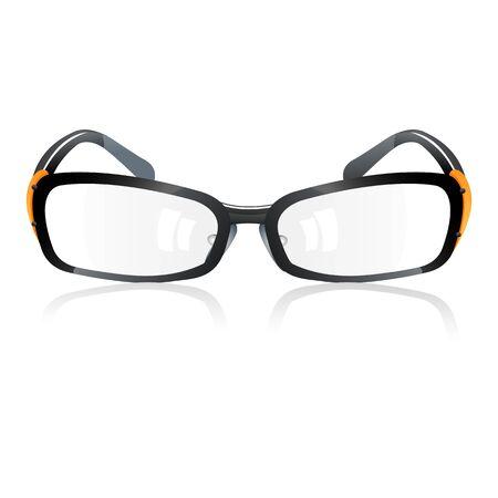 illustration of trendy eye-wear on white background Stock Vector - 9269269