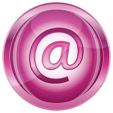 webspace: illustration of web icon on white background