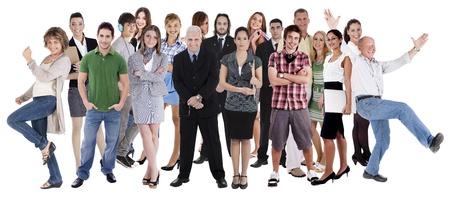 mucha gente: Collage de varias personas pertenecientes a diferentes sectores, culturas y etnias