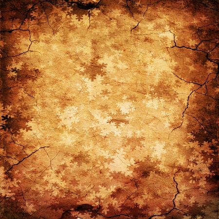 snoflake: Illustration of retro snowflake background