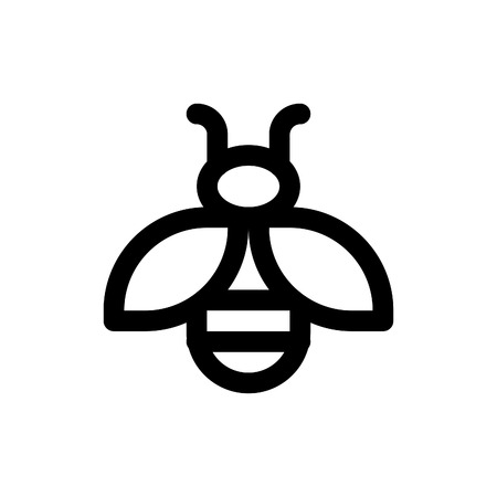 insect flies: bee