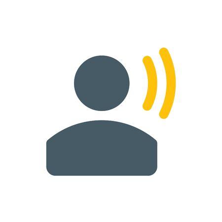 User voice Illustration