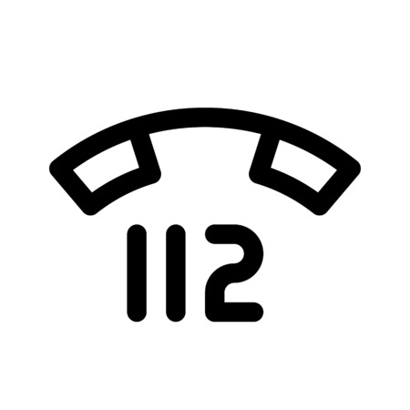 112 - emergency telephone number