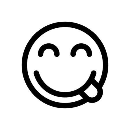 emoji savouring delicious food