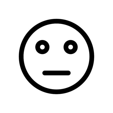 neutral emoji 版權商用圖片 - 86306805