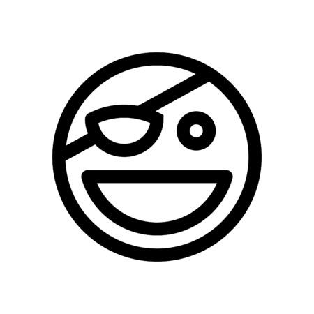 pirate emoji Illustration