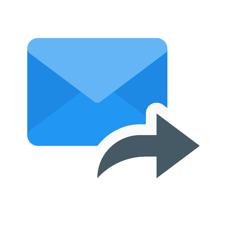 email forward  イラスト・ベクター素材
