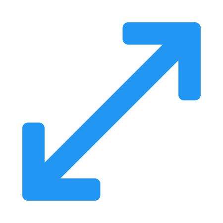 maximize arrow