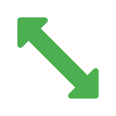 scale up arrow Ilustração