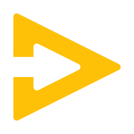 triangle arrow