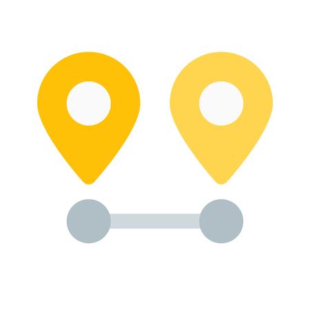 location distance