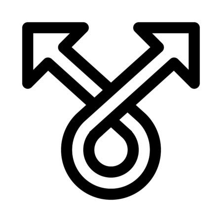 spread arrow Иллюстрация