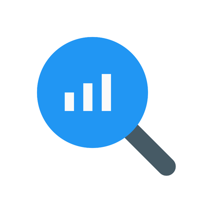 bar chart search Vectores