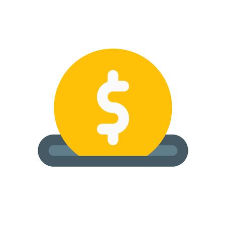 collect: saving money Illustration