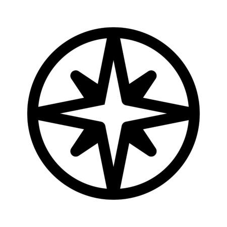 Compas de navigation Banque d'images - 86308496