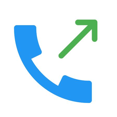 call log: call made Illustration