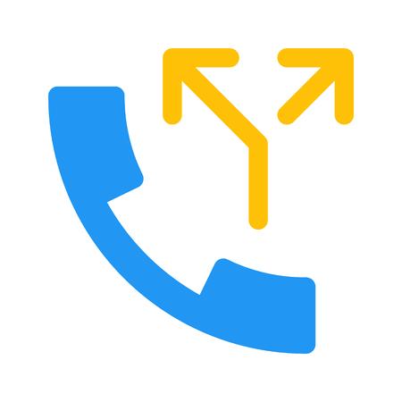 split call Illustration