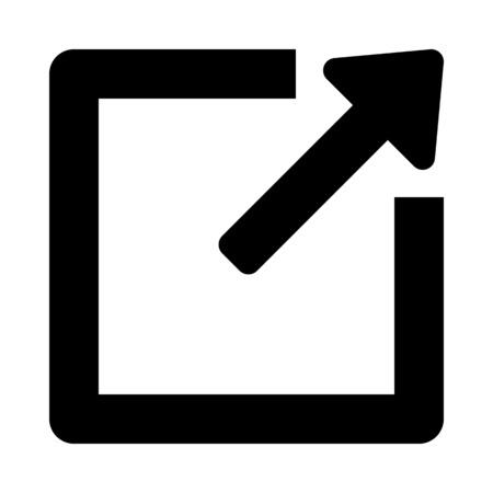 maximize window arrow