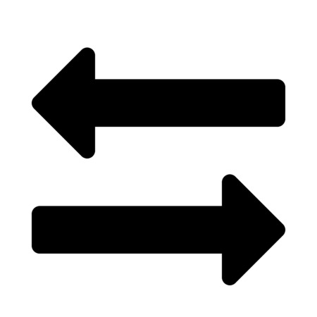 transfer arrow Illustration