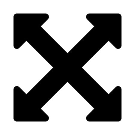 enlarge symbol
