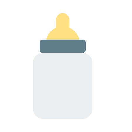 butelka do karmienia dziecka Ilustracje wektorowe
