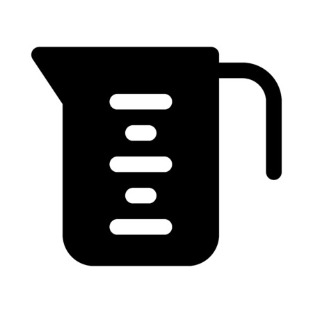 measuring cup Illustration