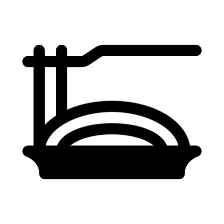 スパゲティ  イラスト・ベクター素材
