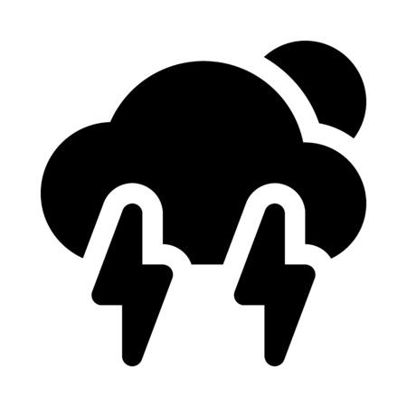 雷嵐の日。