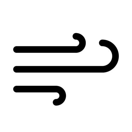 wind symbol Illustration