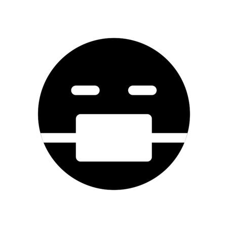 emoji wih medical mask