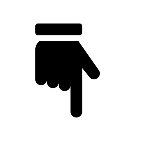 Pointing Finger Down Stock Photos Royalty Free Pointing Finger Down
