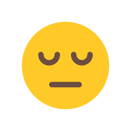 tired emoji