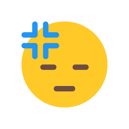 very tired emoji Иллюстрация