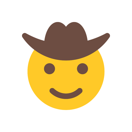 happy cowboy Illustration