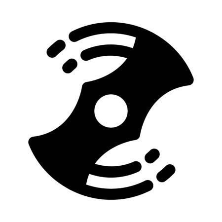 Spinning fidget toy icon.