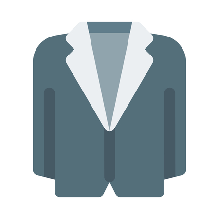 Tuxedo icon illustration.