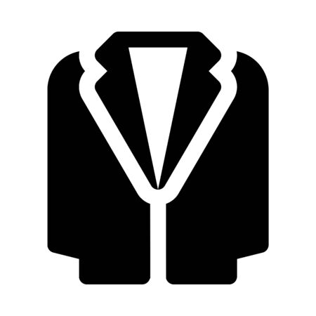 Tuxedo icon in flat design.