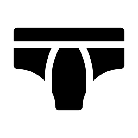 Underwear icon. Illustration