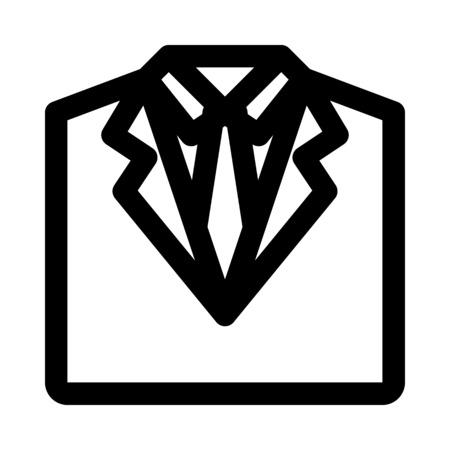 Suit icon. Illustration
