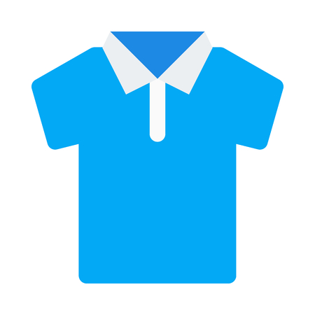 Polo shirt icon. Illustration