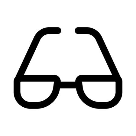 eyewear fashion: Shades icon.