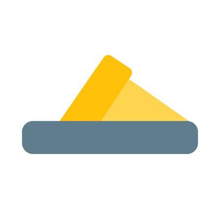 Slipper icon.