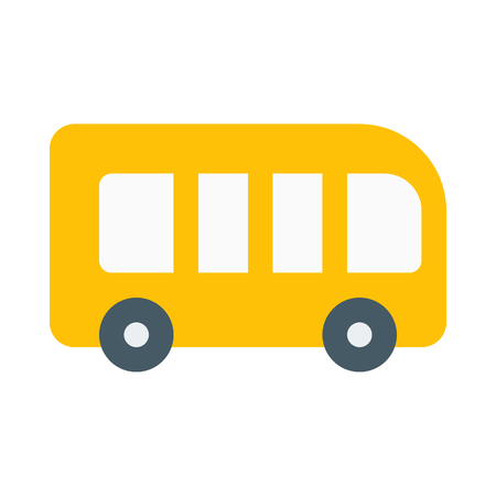 Charter bus icon